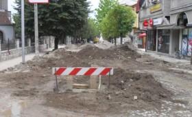 Откриени два бунари при реконструкцијата на главната улица