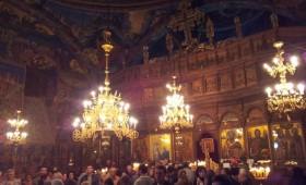 ФОТО: Вечерва во манастирот Богородица Пречиста се собра народ за Мала Богородица