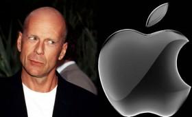 И Брус Вилис му се намерачи на Apple
