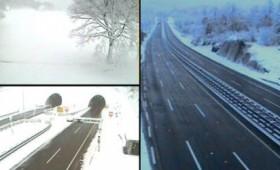ФОТО: 20 сантиметри снег во Хрватска