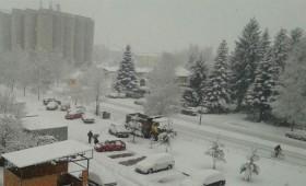 Кичево се разбуди во снег