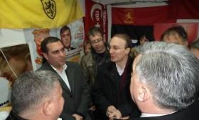 ФОТО: Свечено отворен изборниот штаб на ВМРО-ДПМНЕ и СДСМ во Кичево