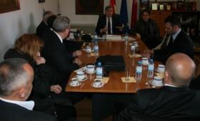 Градоначалникот на Кичево ги пречека инвеститорите од Турција