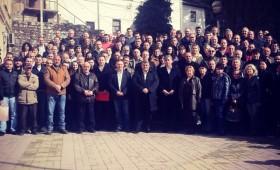 (ФОТО) Пишуваме историја – Потпишан договор за долгорочна изборна соработка во Кичево во интерес на сите граѓани!