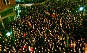 Фотографии од историскиот митинг во Кичево