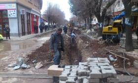 ФОТО: Продолжуваат работите за реконструкција на кичевскиот водовод