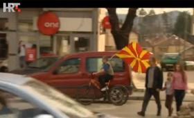 ВИДЕО: Репортажа од Кичево на Хрватската телевизија
