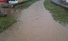 Поплавени пониските населби во Кичево
