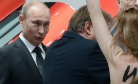 "ФОТО + ВИДЕО: Путин ""преживеа"" напад"
