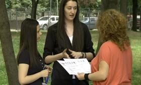 Македонски студенти го одбранија Уставното име