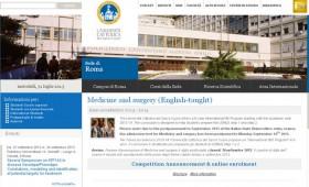 Во тек е огласот на МЗ за запишување студенти на додипломски студии во Рим