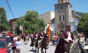 """ФОТО: Кичево со срце ги пречека коњаниците од """"Патот на Црешовото топче"""""""
