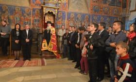 Претседателот Ѓорге Иванов во посета на манастирот Пречиста