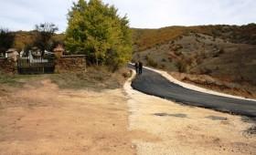 Асфалтиран пат во село Прибилци