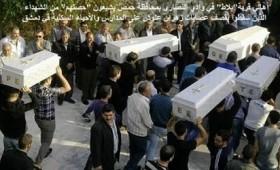 Погребани убиените дечиња во христијанскиот кварт во Дамаск