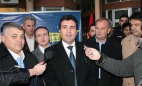 Заев одржа трибина во Кичево
