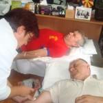 Крводарителска акција -