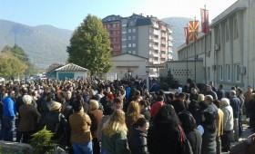 Заврши протестот на родителите пред општина Кичево