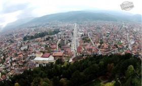 Панорама на Кичево снимена од воздух (HD ВИДЕО)