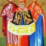 Денеска е Св. маченик Јерон со дружината или св. 33 Мелитински маченици