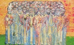 Денеска е Св. апостоли Стахиј, Амплиј, Урбан, Наркис, Апелиј и Аристовул.