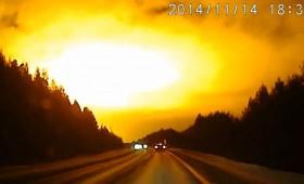 Непозната голема експлозија на небото над Свердловск, Русија (фото + видео)