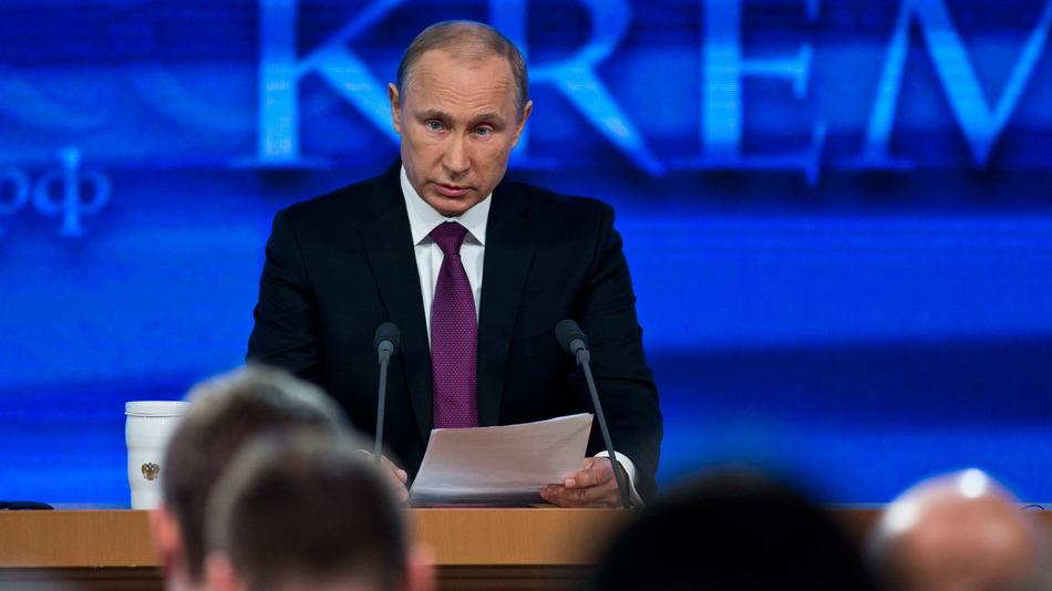 Putin novinari