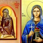 Св. маченичка Варвара и св. Јован Дамаскин