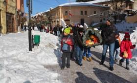 Божиќна литија во Кичево
